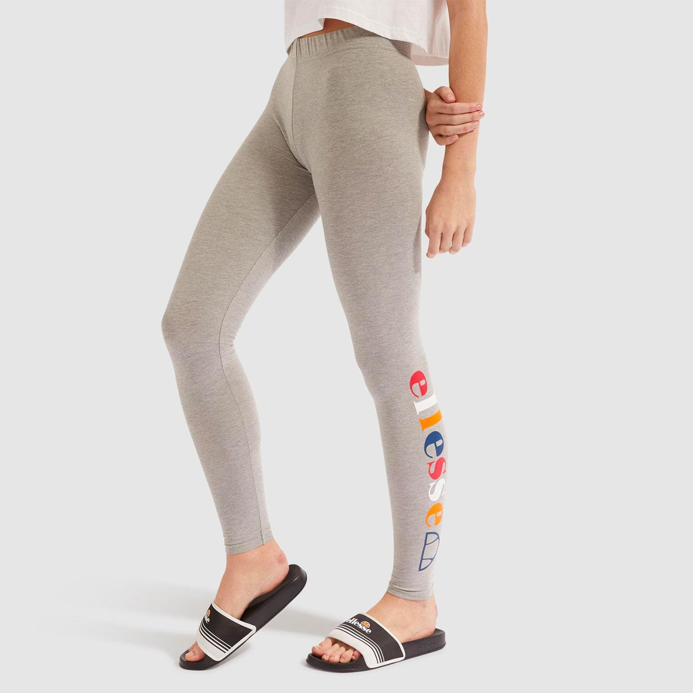 Ghant ELLESSE Retro 90s Logo Leggings (Grey Marl)