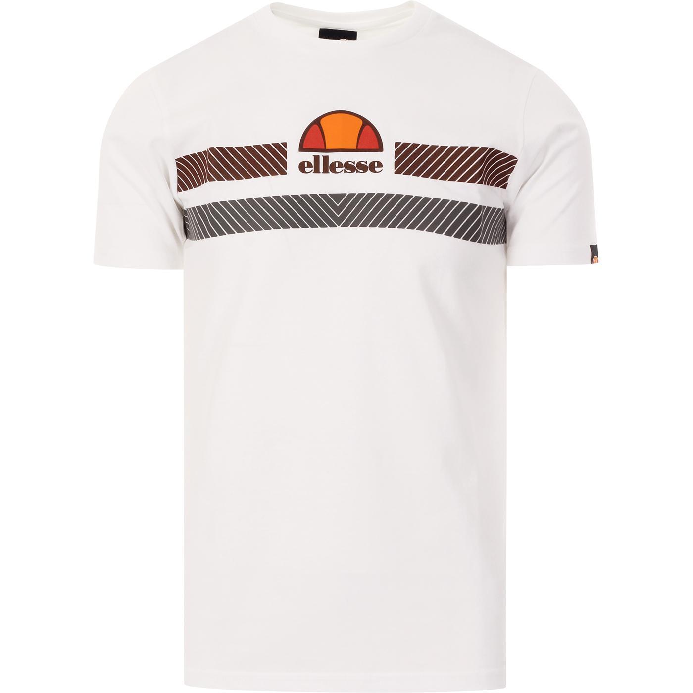 Glisenta ELLESSE 80s Chevron Stripe Logo Tee (W)
