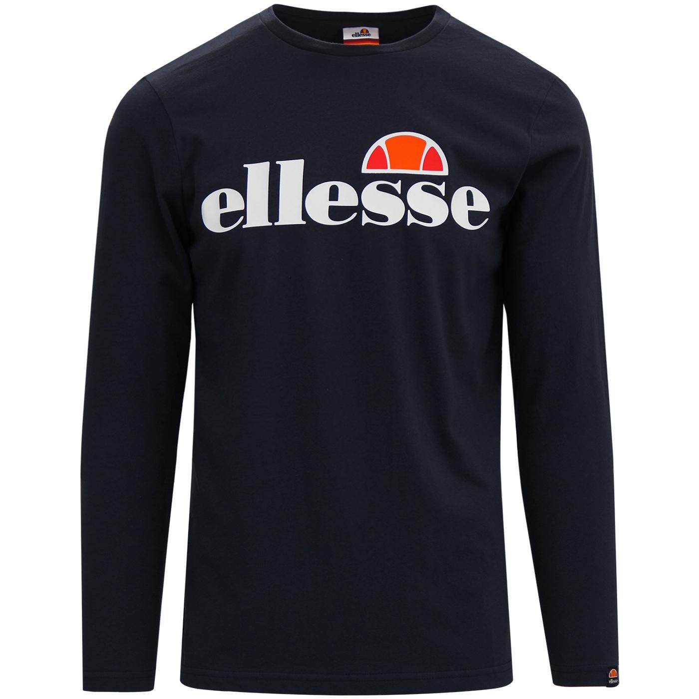 Grazie ELLESSE Retro Classic Small Logo LS Tee N