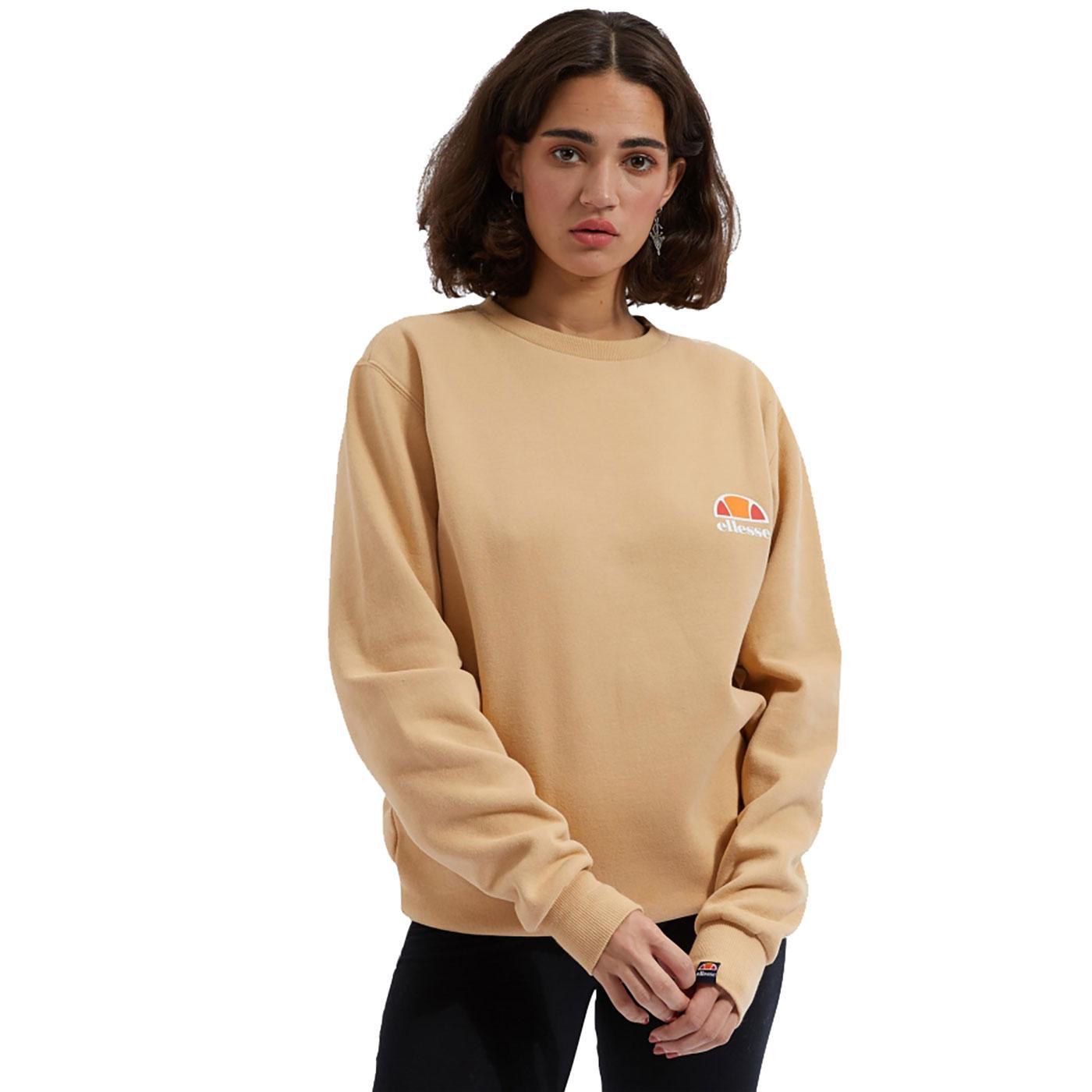 Haverford ELLESSE Loose Fit Logo Sweatshirt BROWN