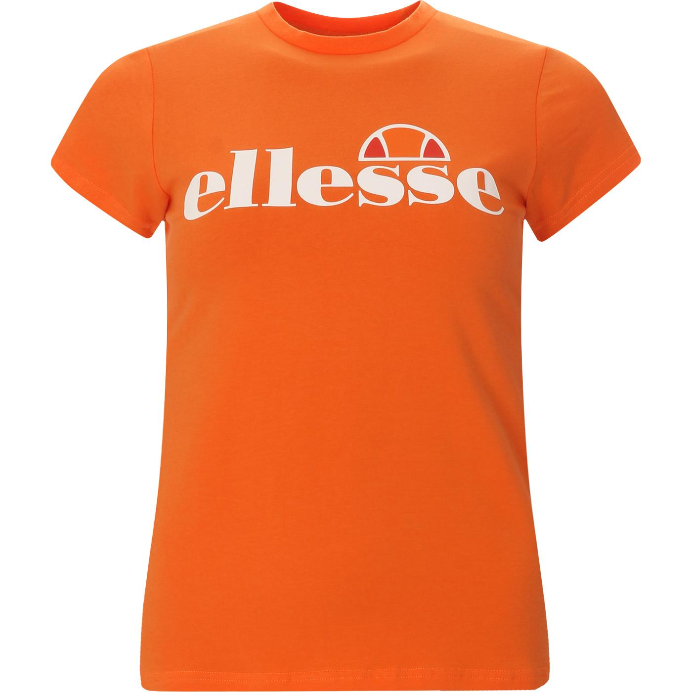 Hayes ELLESSE Women's Retro Logo Tee (Orange)