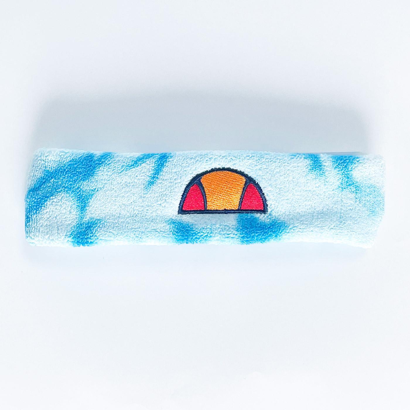 Lasko ELLESSE Retro 70s Tie Dye Headband