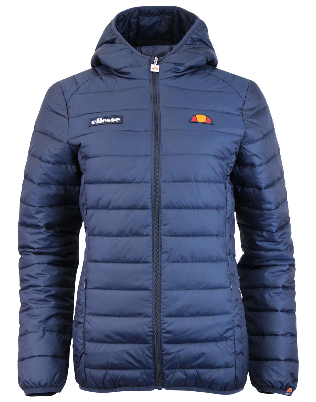Lompard ELLESSE Retro 70s Quilted Ski Jacket (DB)