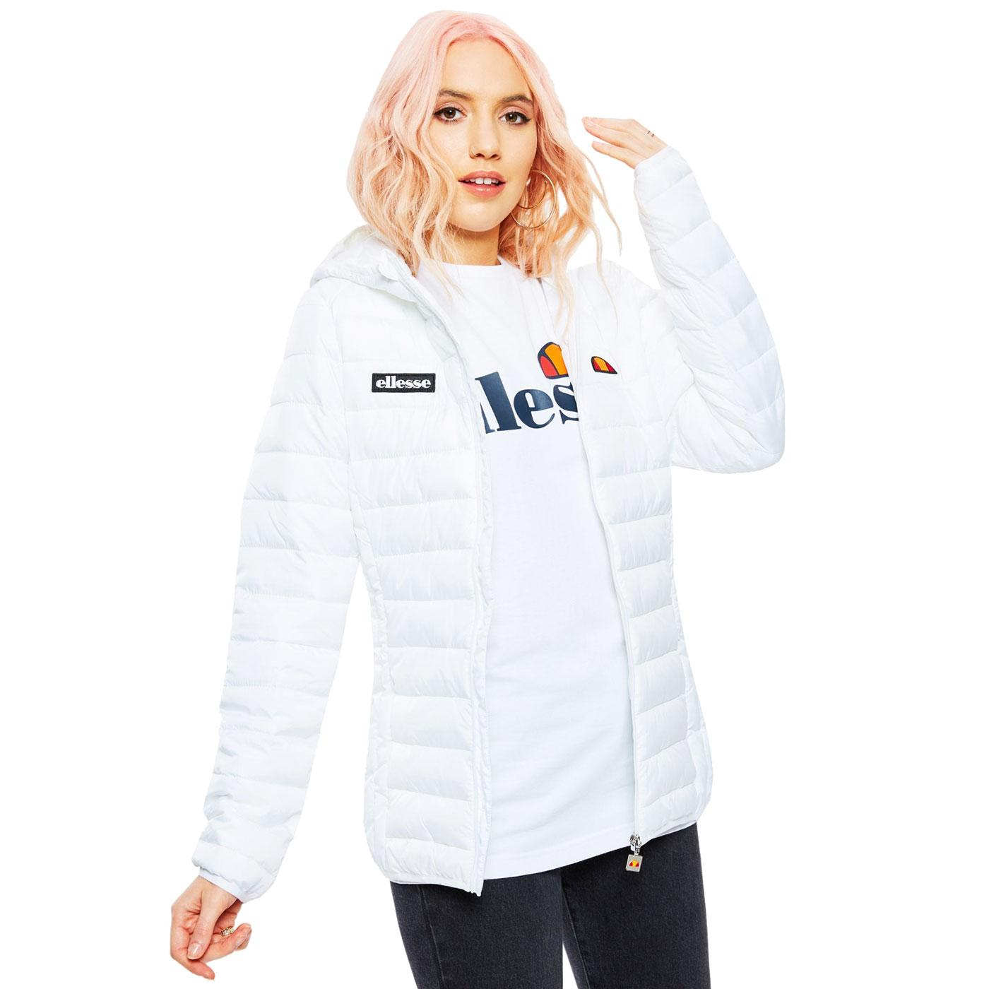 Lompard ELLESSE Women's Padded ski Jacket WHITE