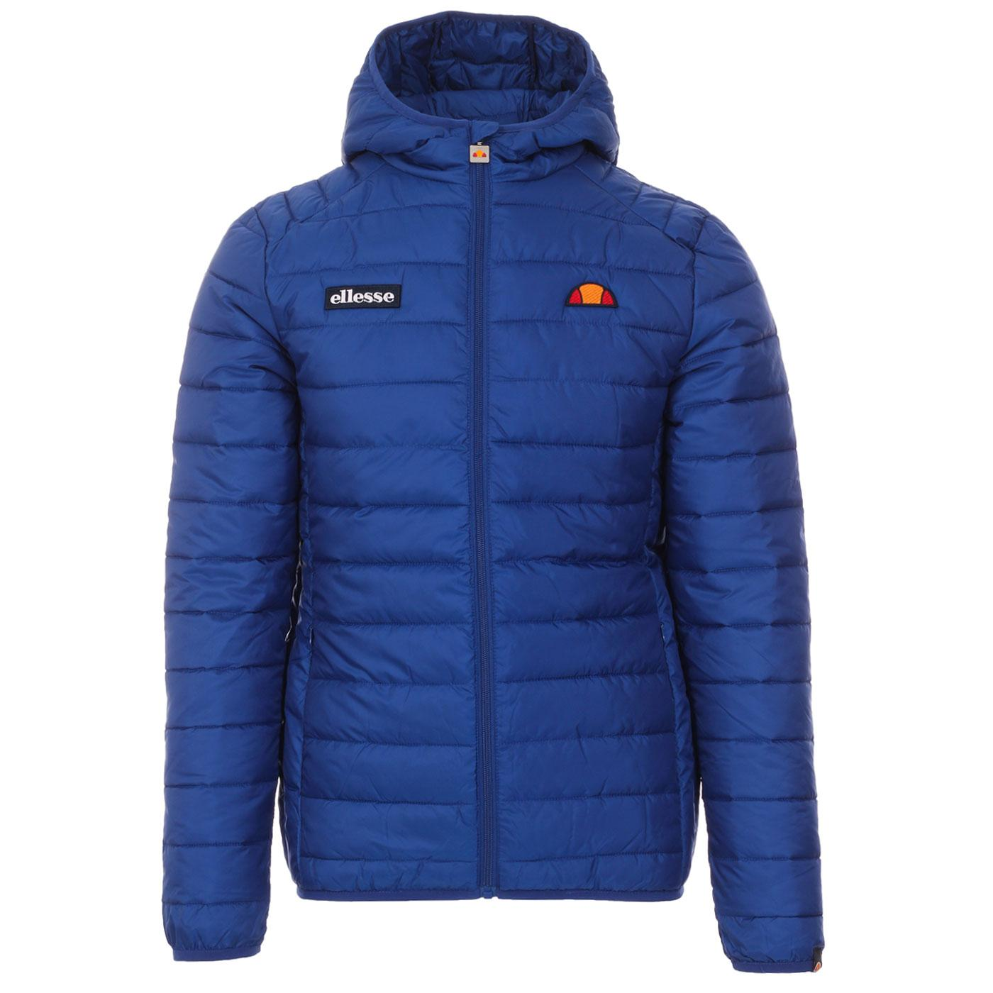 Lombardy ELLESSE Retro Quilted Ski Jacket (Blue)