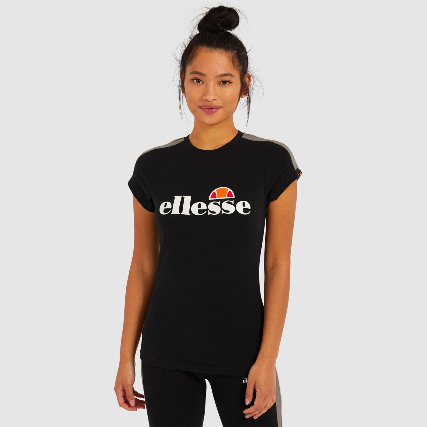 Malis ELLESSE Women's Retro Jet Stripe Fitted Tee