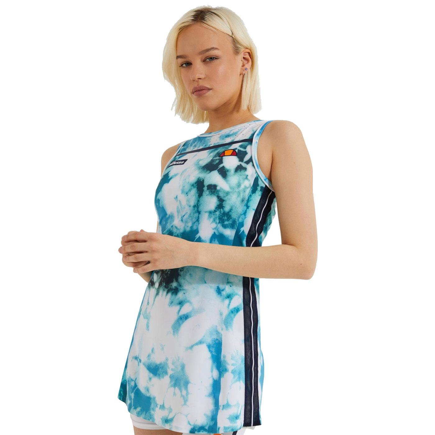 Marasusa ELLESSE Retro All Over Print Tennis Dress