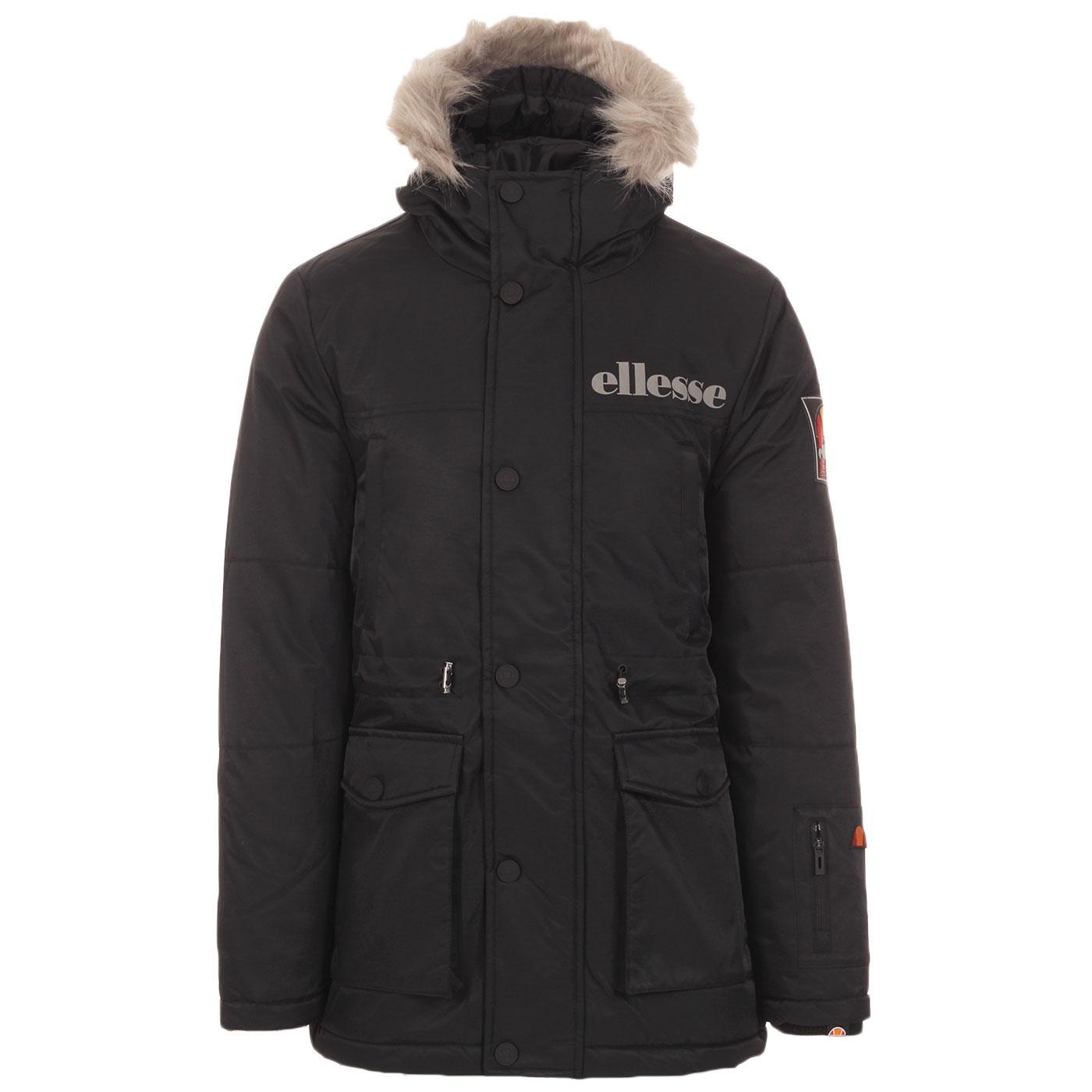 Mazzo ELLESSE Retro 90s Snorkel Parka Jacket (B)