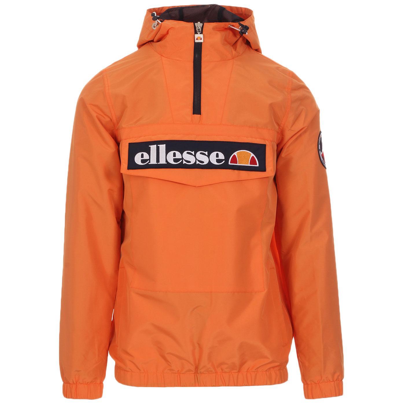 Mont 2 ELLESSE Retro 80s Overhead Jacket (Orange)