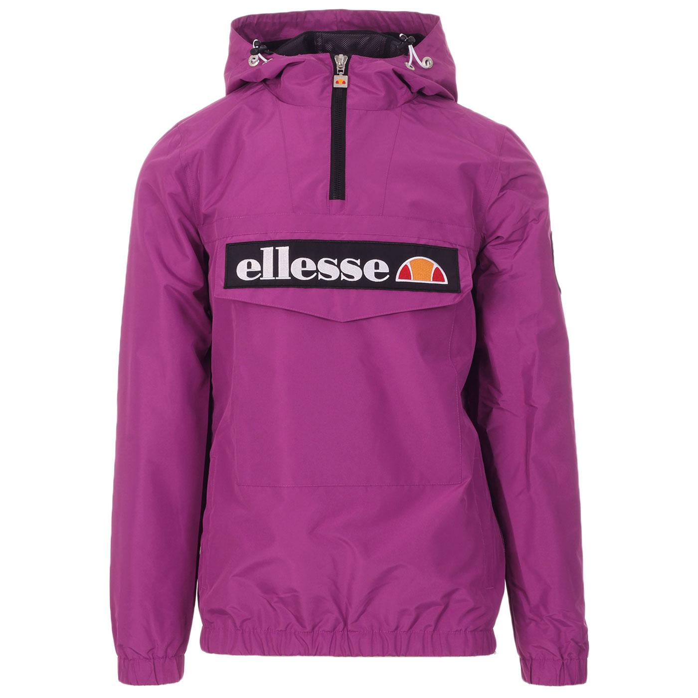 Mont 2 ELLESSE Retro 80s Overhead Jacket (Purple)