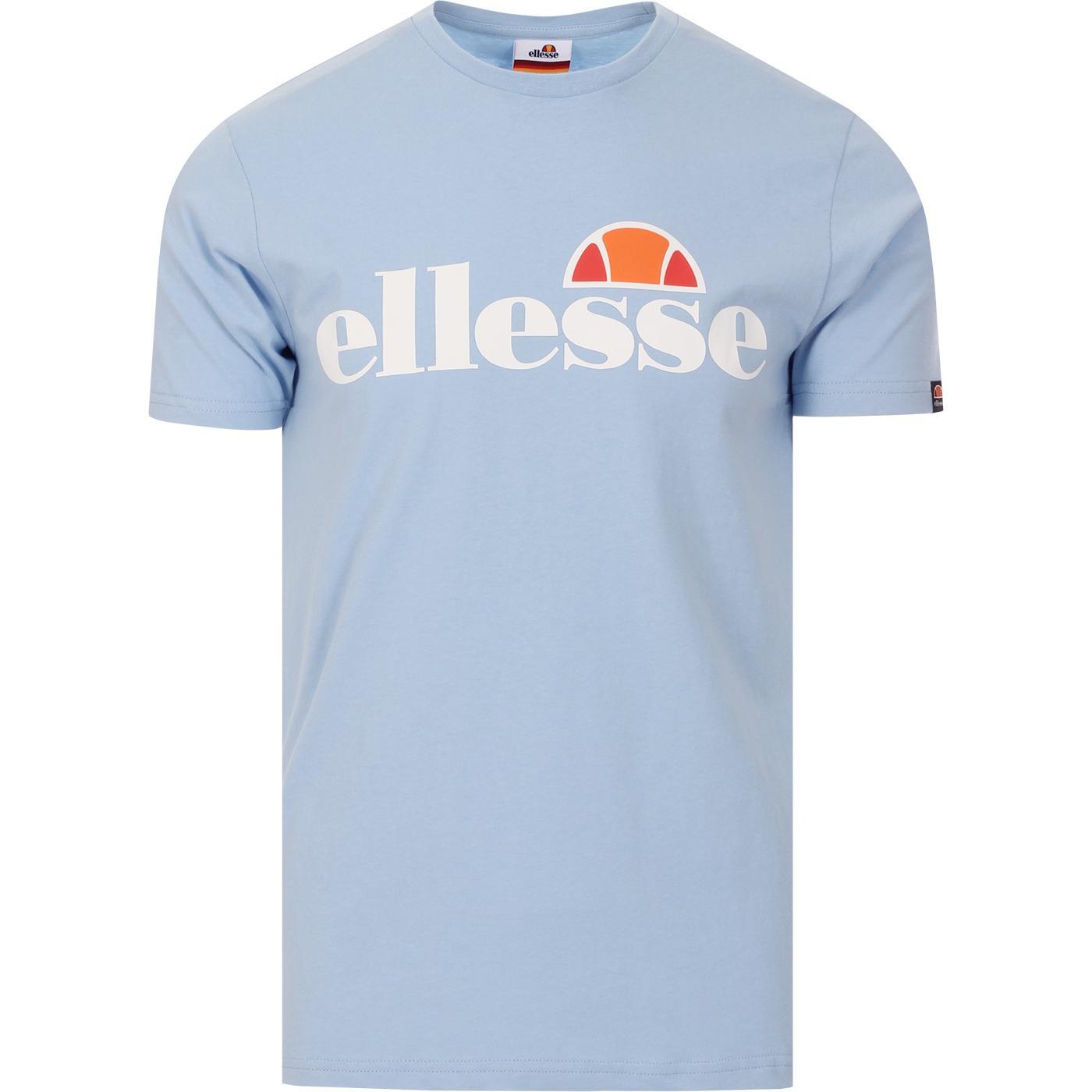 Prado ELLESSE Retro 80s Logo Crew Tee (Light Blue)