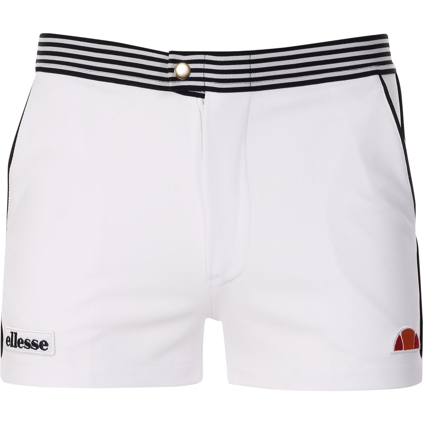 Renzo ELLESSE Men's Retro Tennis Shorts W