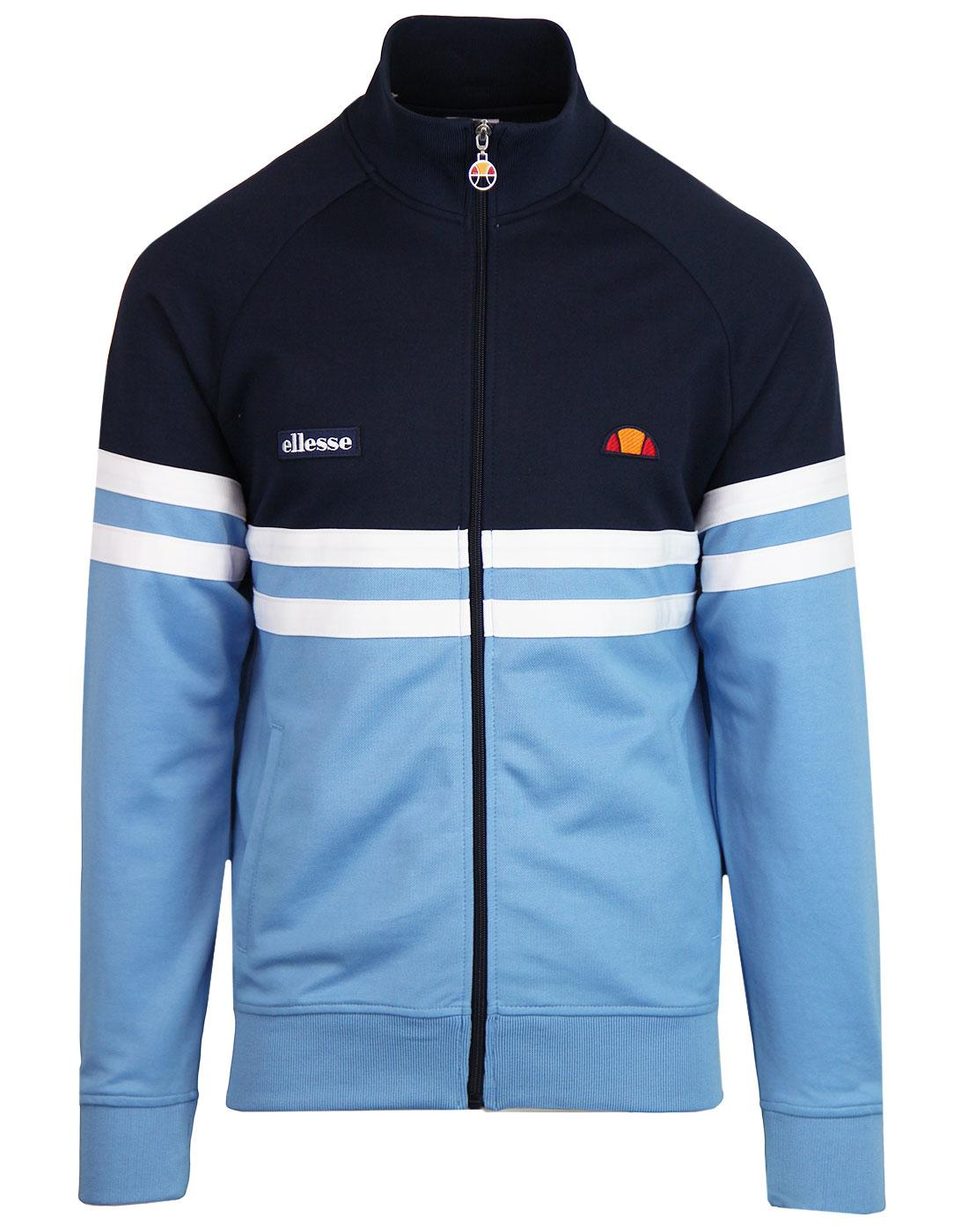 Rimini ELLESSE Retro 80s Panel Stripe Track Top SB