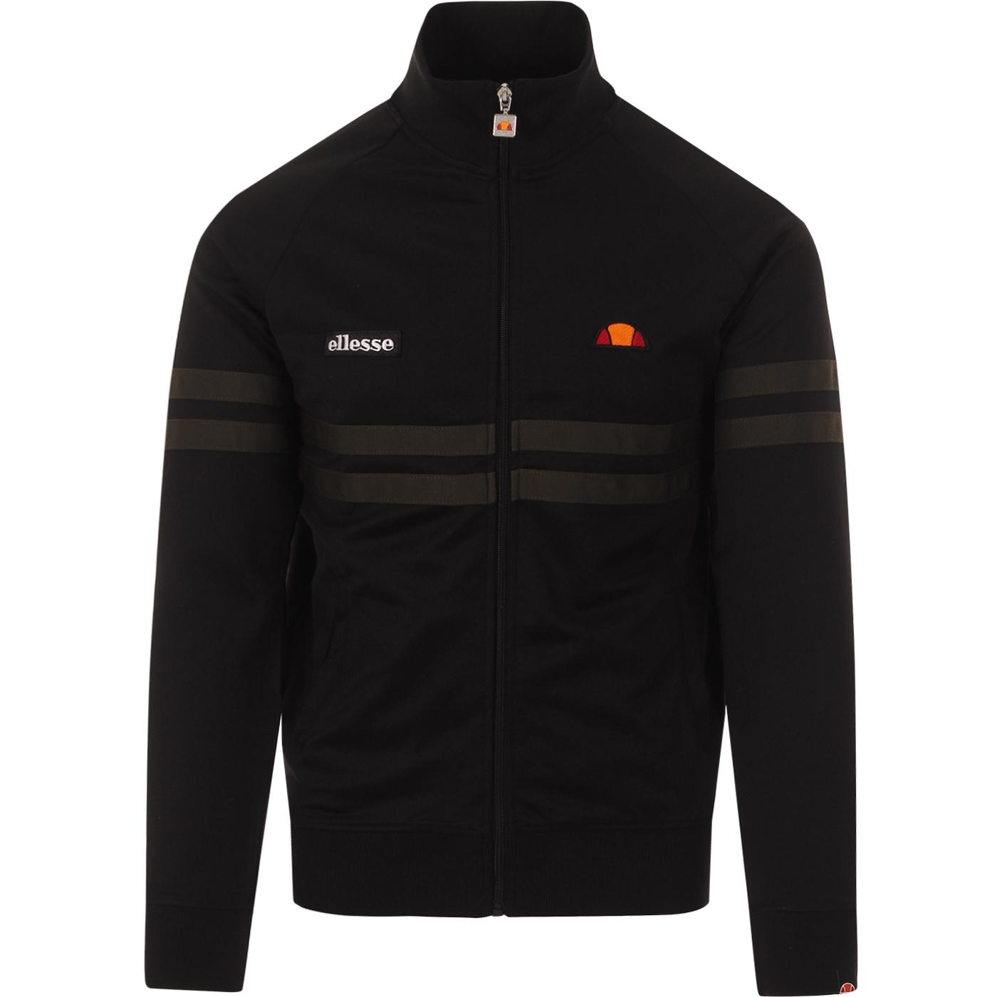 Rimini ELLESSE Retro Chest Stripe Track Top (B/G)