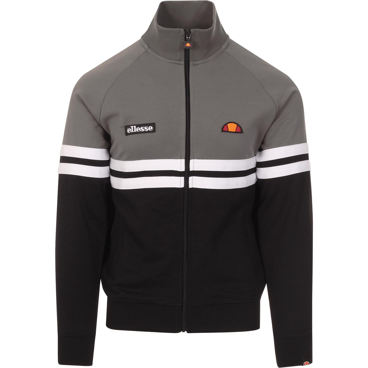 Rimini ELLESSE Retro Chest Stripe Track Top (Grey)