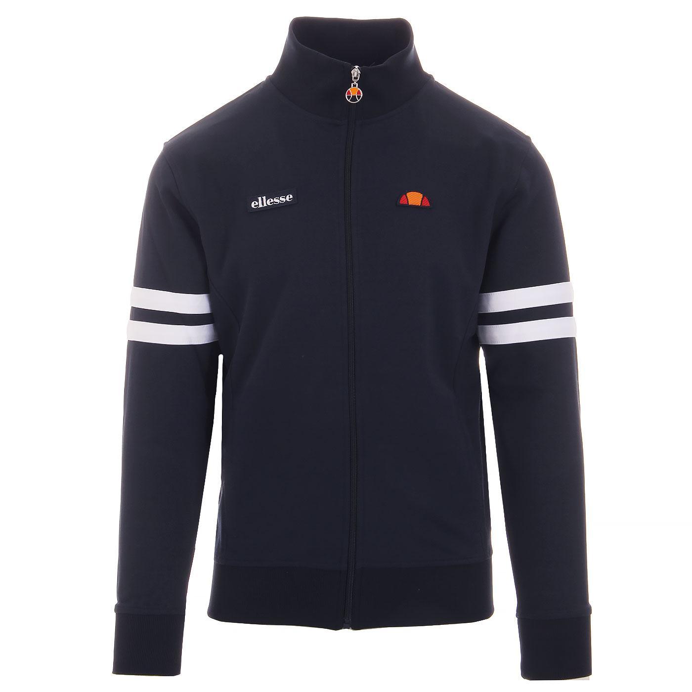 Roma ELLESSE Men's Seventies Track Jacket -  NAVY
