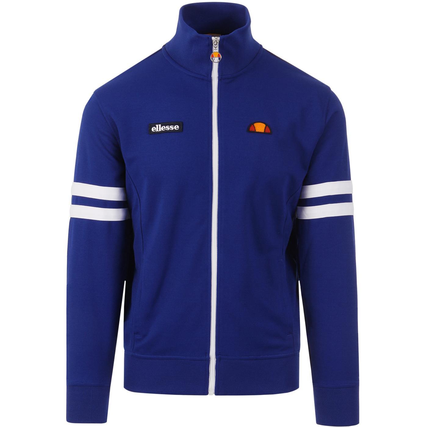 Roma ELLESSE Men's Seventies Track Jacket BLUE