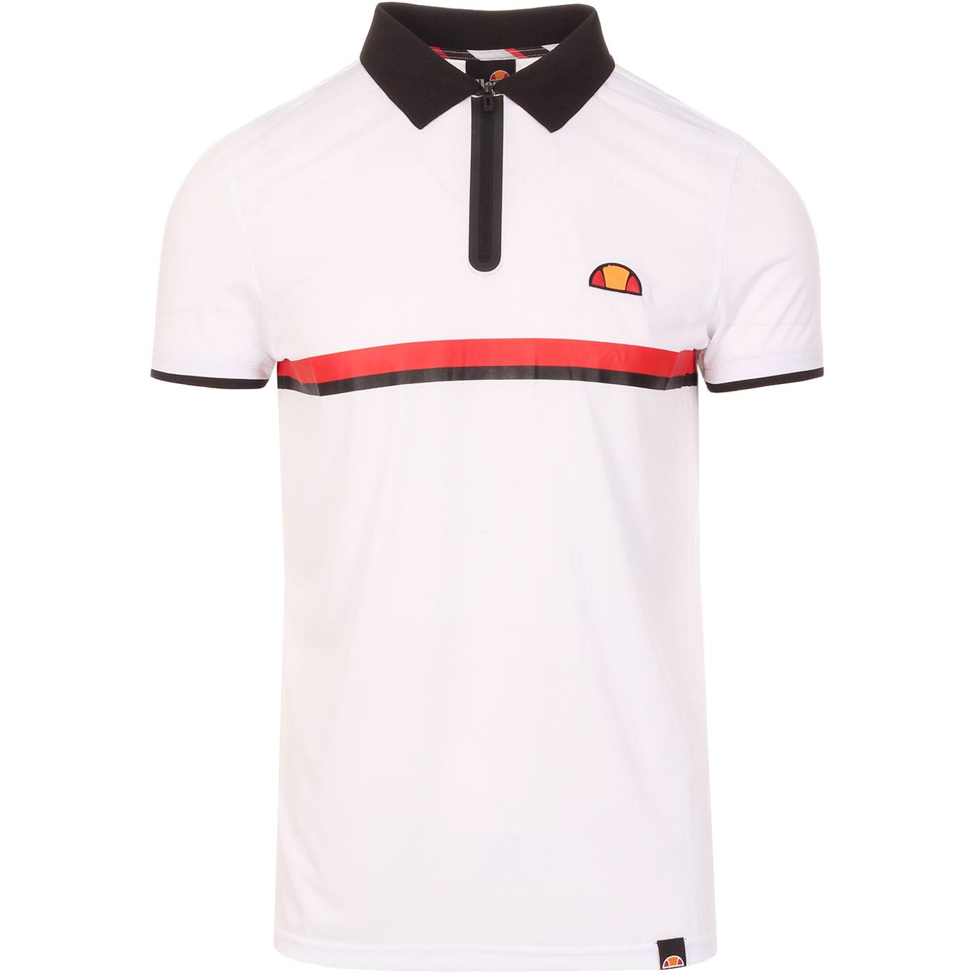 Serve ELLESSE Mens Retro Lightweight Tennis Polo