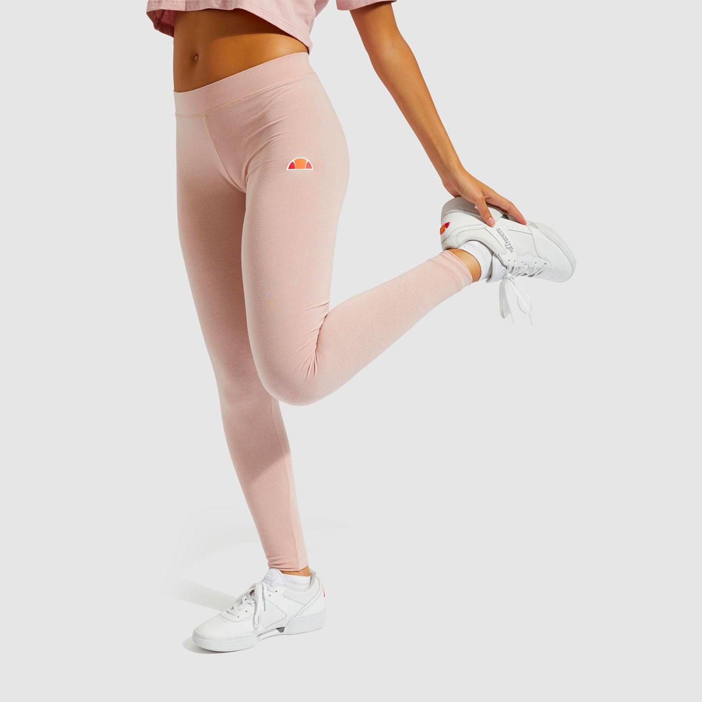 Solos 2 ELLESSE Classic Retro Logo Leggings (Pink)