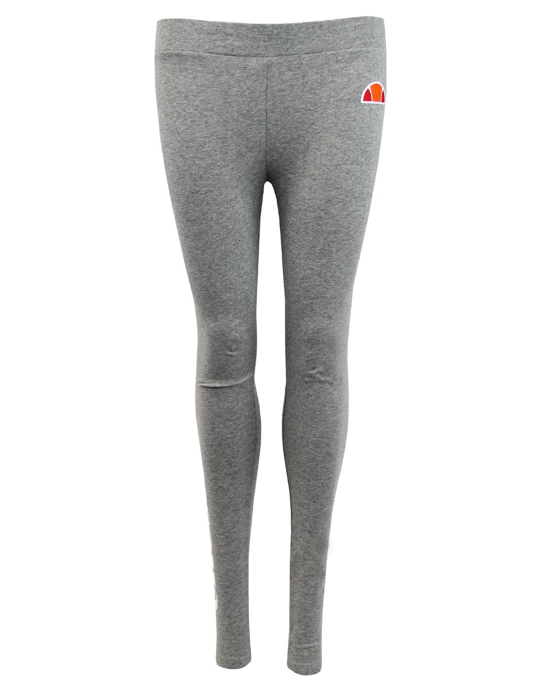 Solos ELLESSE WOMENS Retro 80s Logo Leggings GREY