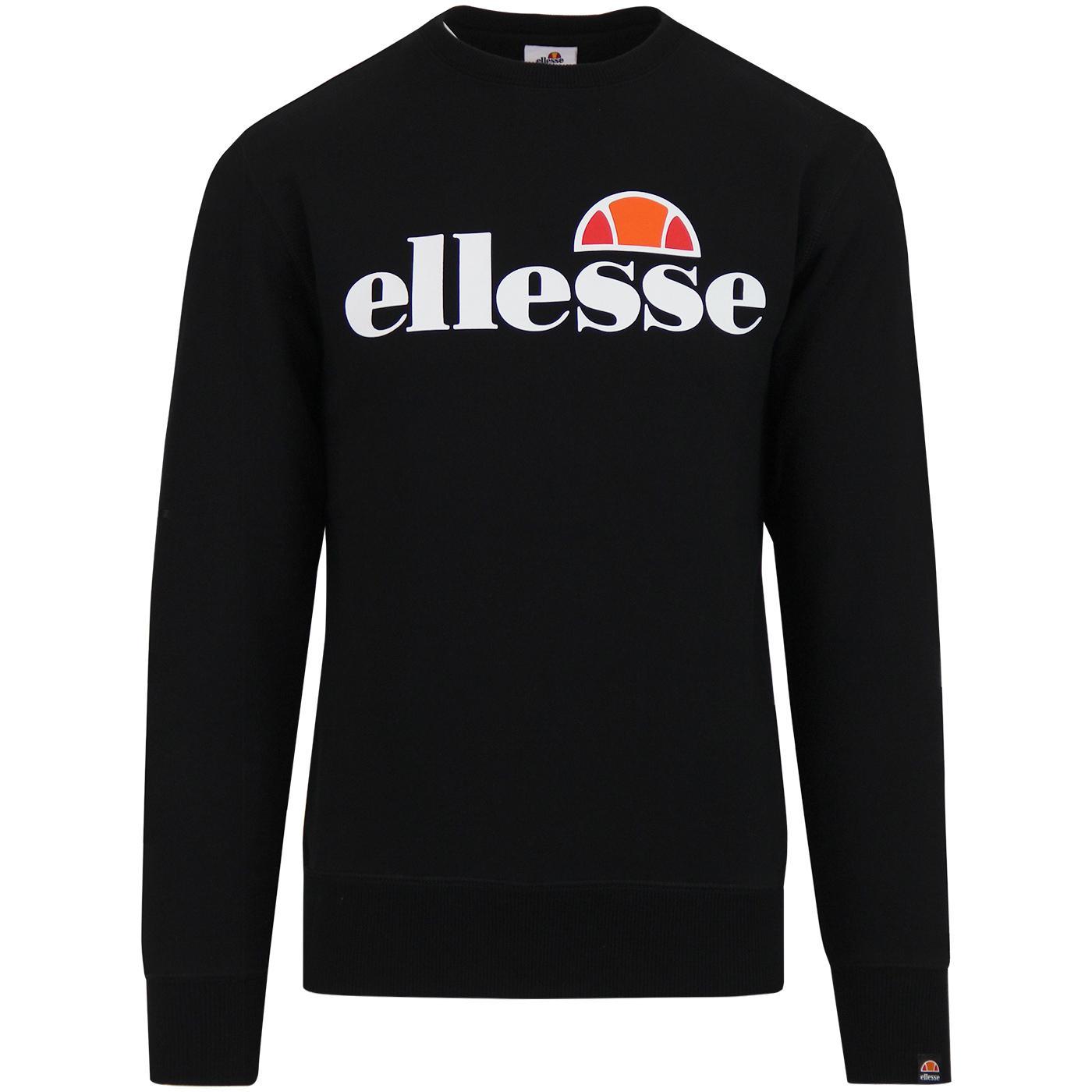 Succiso ELLESSE Retro 70s Crew Neck Sweatshirt B