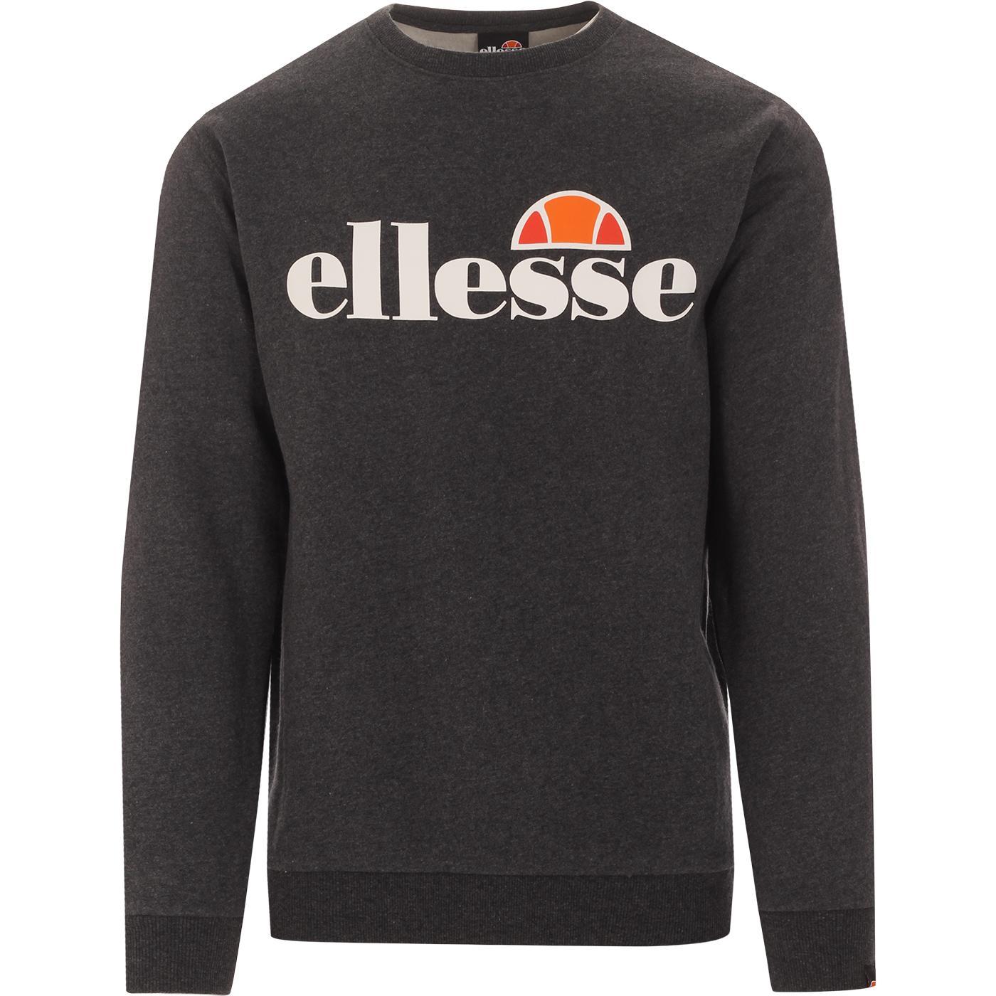 SL Succiso ELLESSE Retro Sweatshirt (Dark Grey)