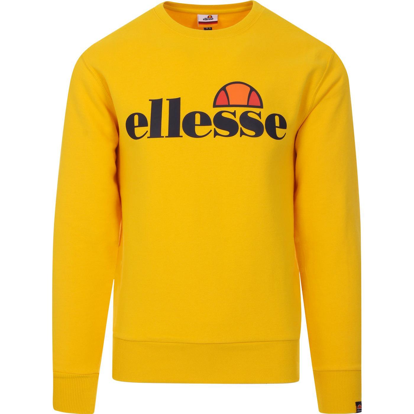 Succiso ELLESSE Retro 1980s Logo Sweatshirt (Y)