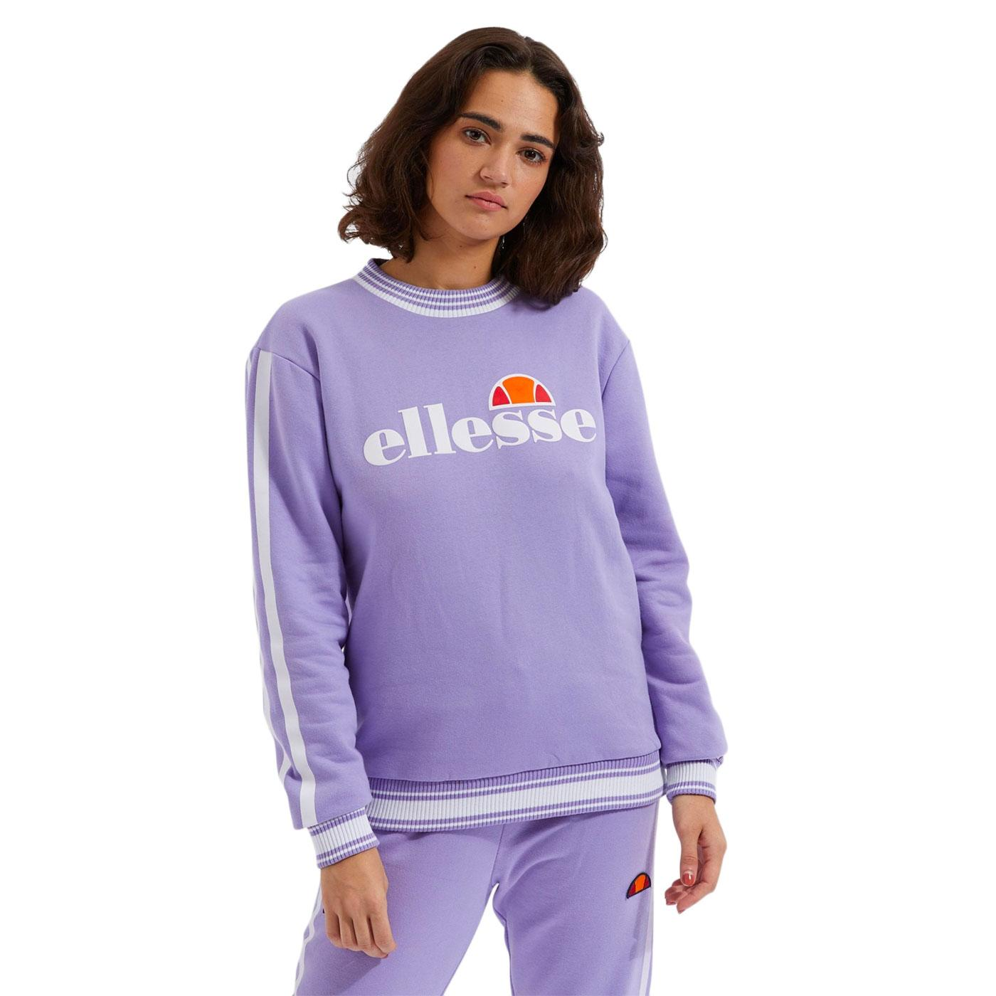 Susana ELLESSE Women's Retro 90s Sweatshirt PURPLE