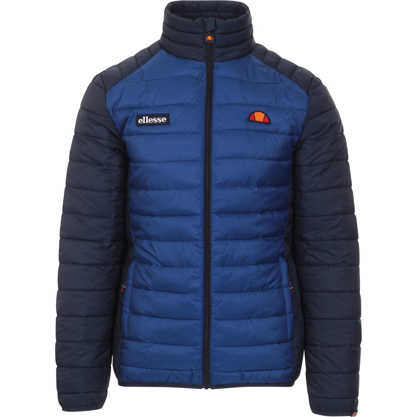 Tartaro ELLESSE Retro Colour Block Quilted Jacket