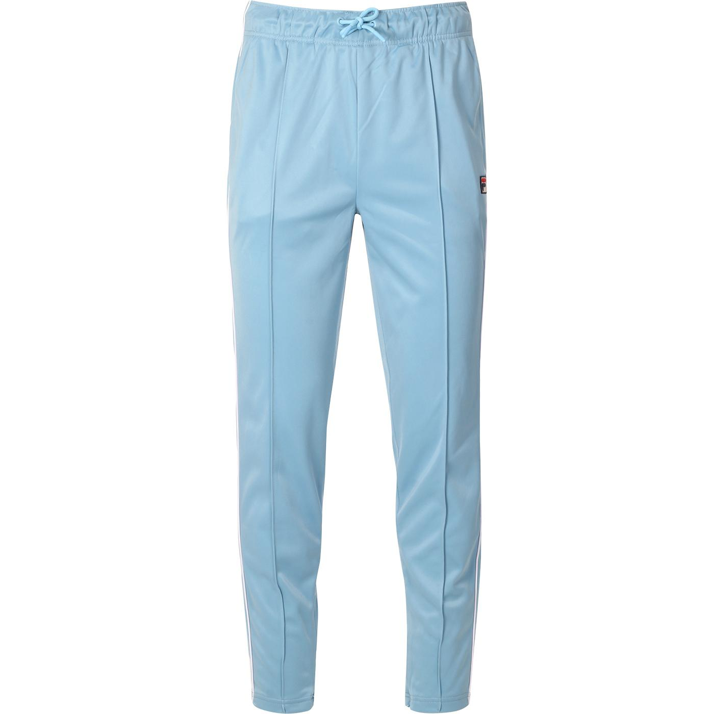 Terry FILA VINTAGE Retro 80s Piped Track Pants AIR