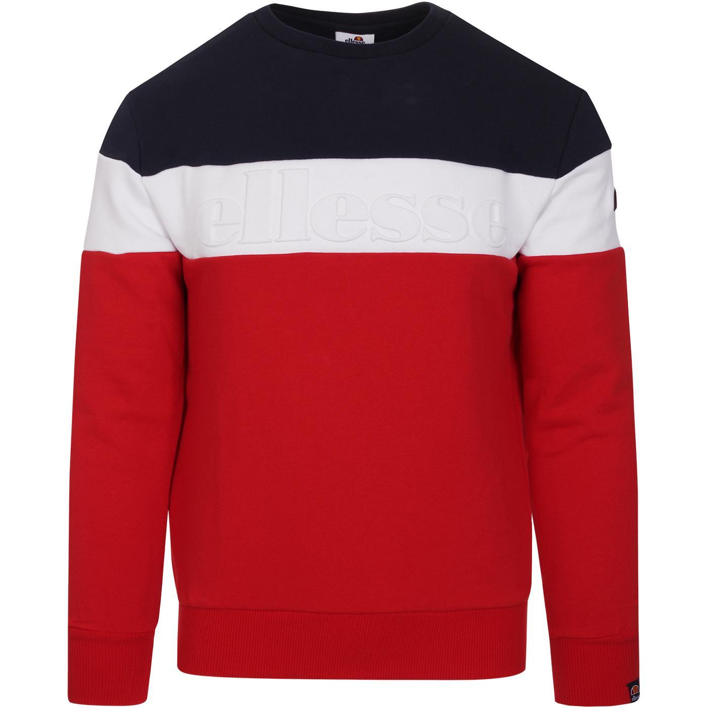 Torre ELLESSE Retro 1980's Texture Logo Sweater R