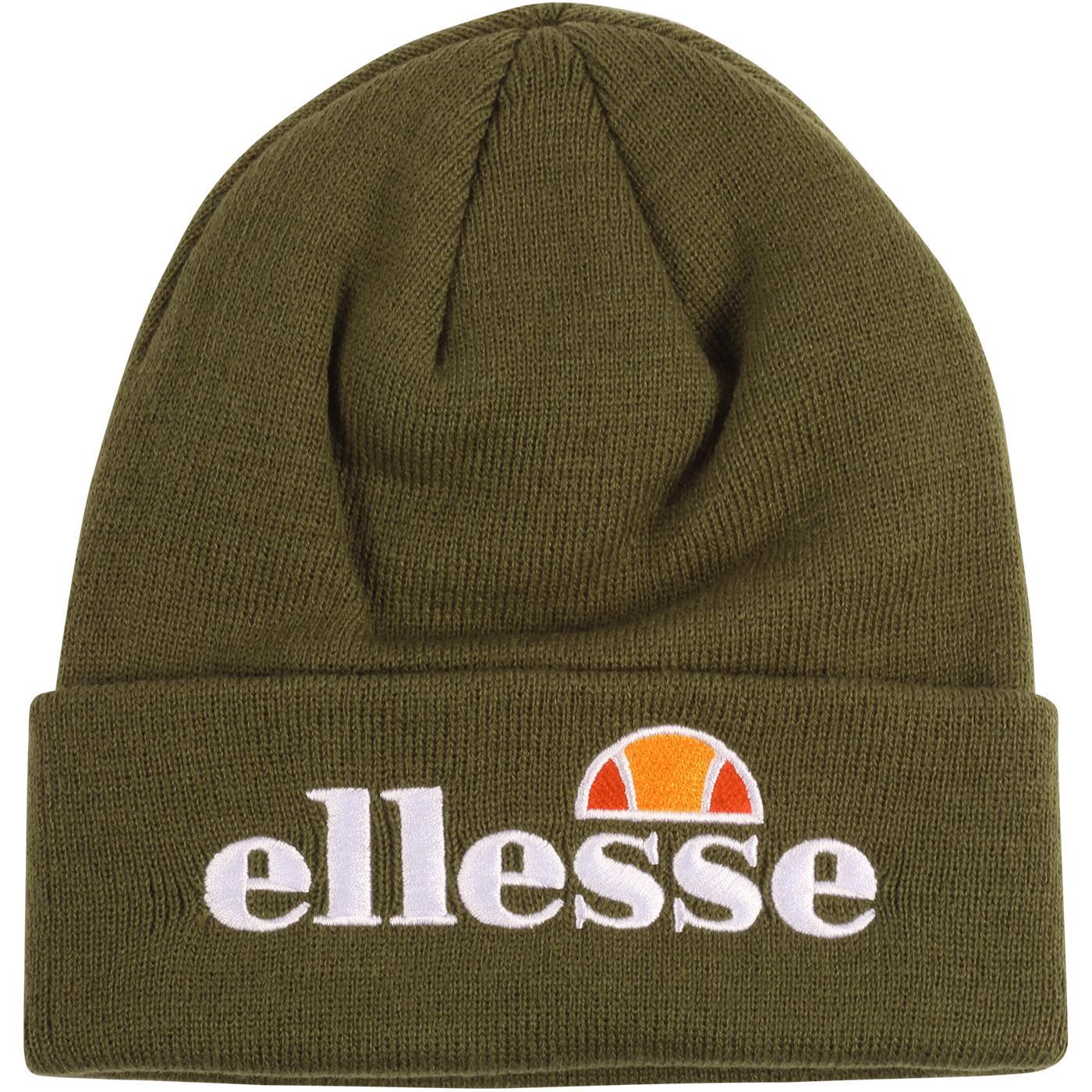 Velly ELLESSE Retro 80s Knitted Logo Beanie Hat K