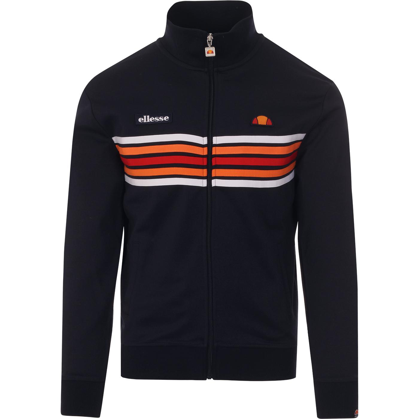 Vicenza ELLESSE Retro 80s Chest Stripe Track Top N