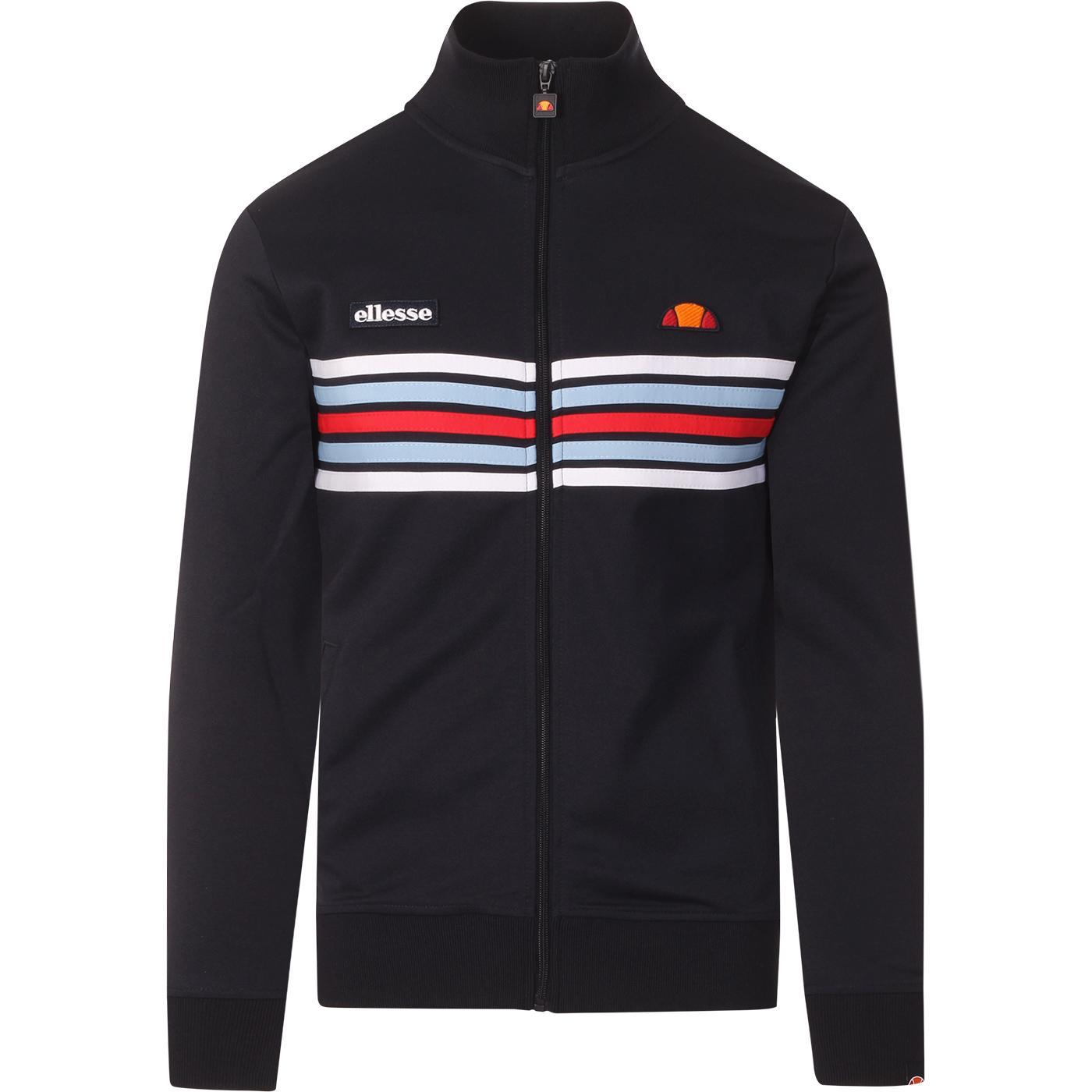 Vicenza ELLESSE Retro Chest Stripe Track Top NAVY