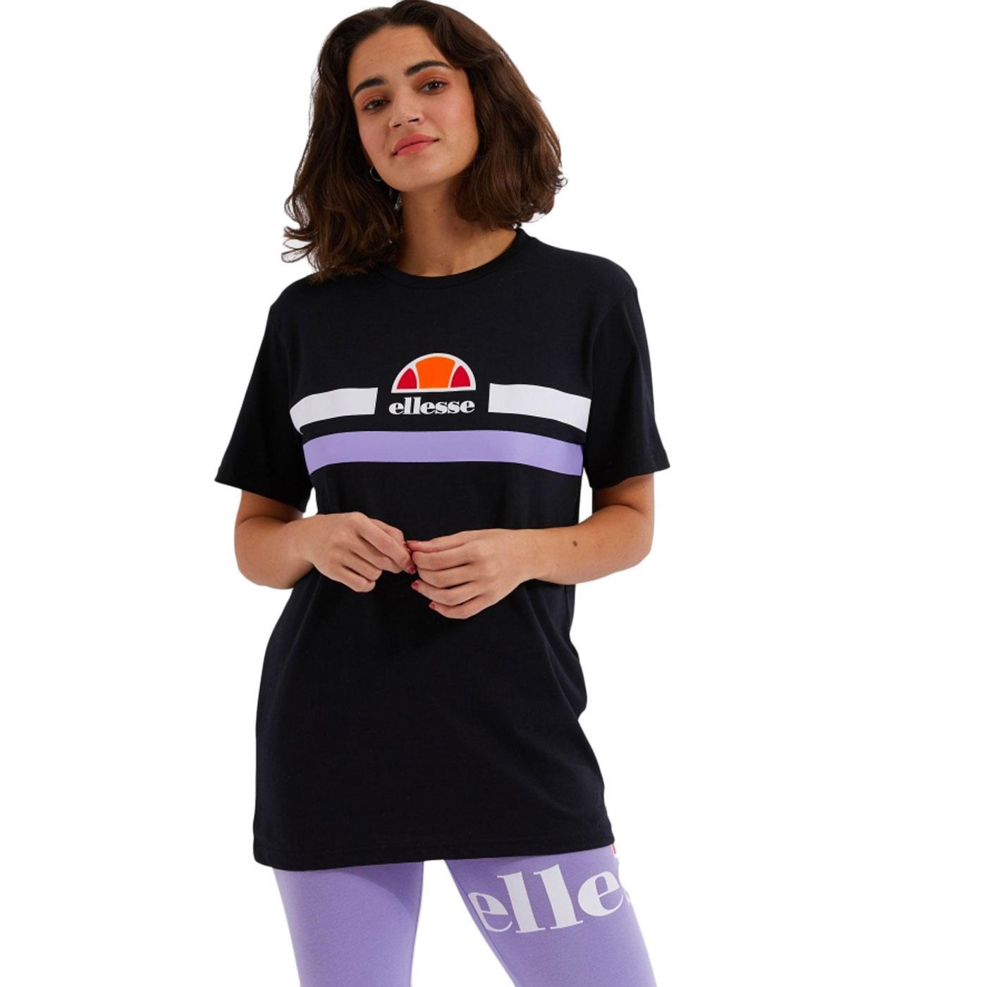 Lattea ELLESSE Women's Retro 80s Logo Stripe Tee B