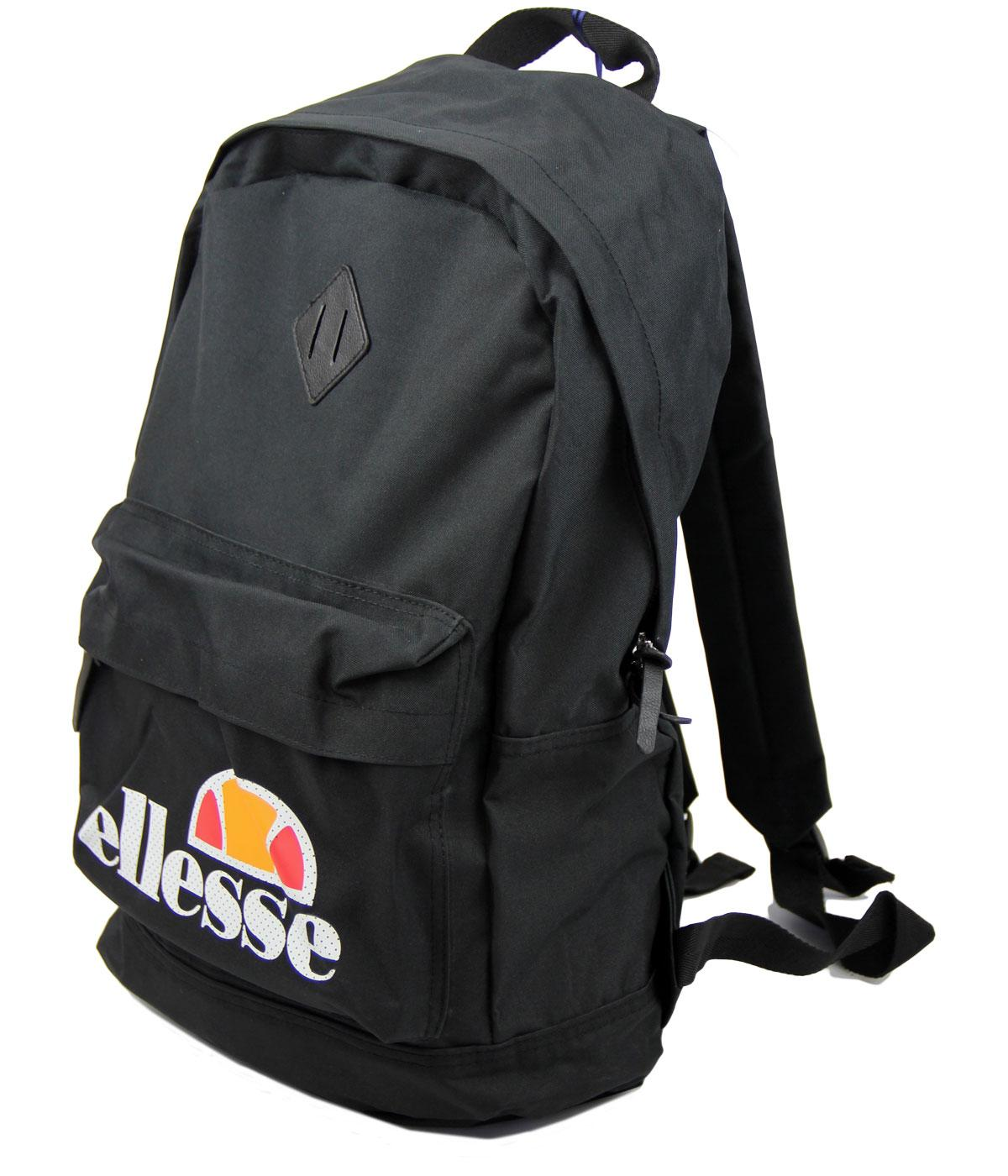Brock ELLESSE Retro Indie Rucksack In Black