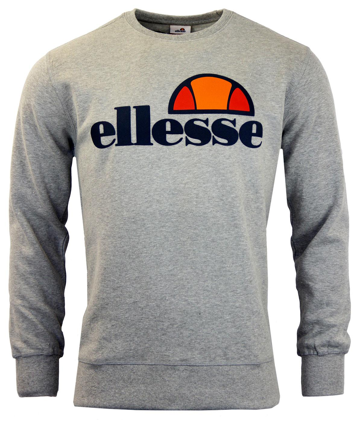 Succiso ELLESSE Retro 70s Crew Neck Sweater (GM)