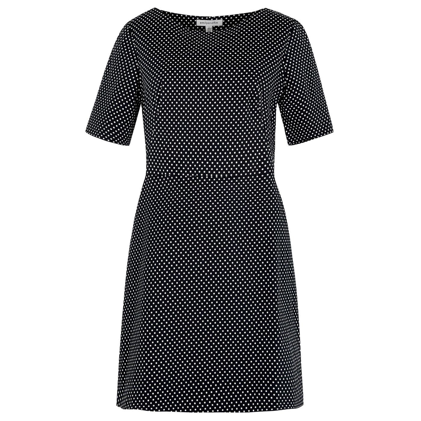 Aggie EMILY & FIN Retro Mini Polkadot Spot Dress