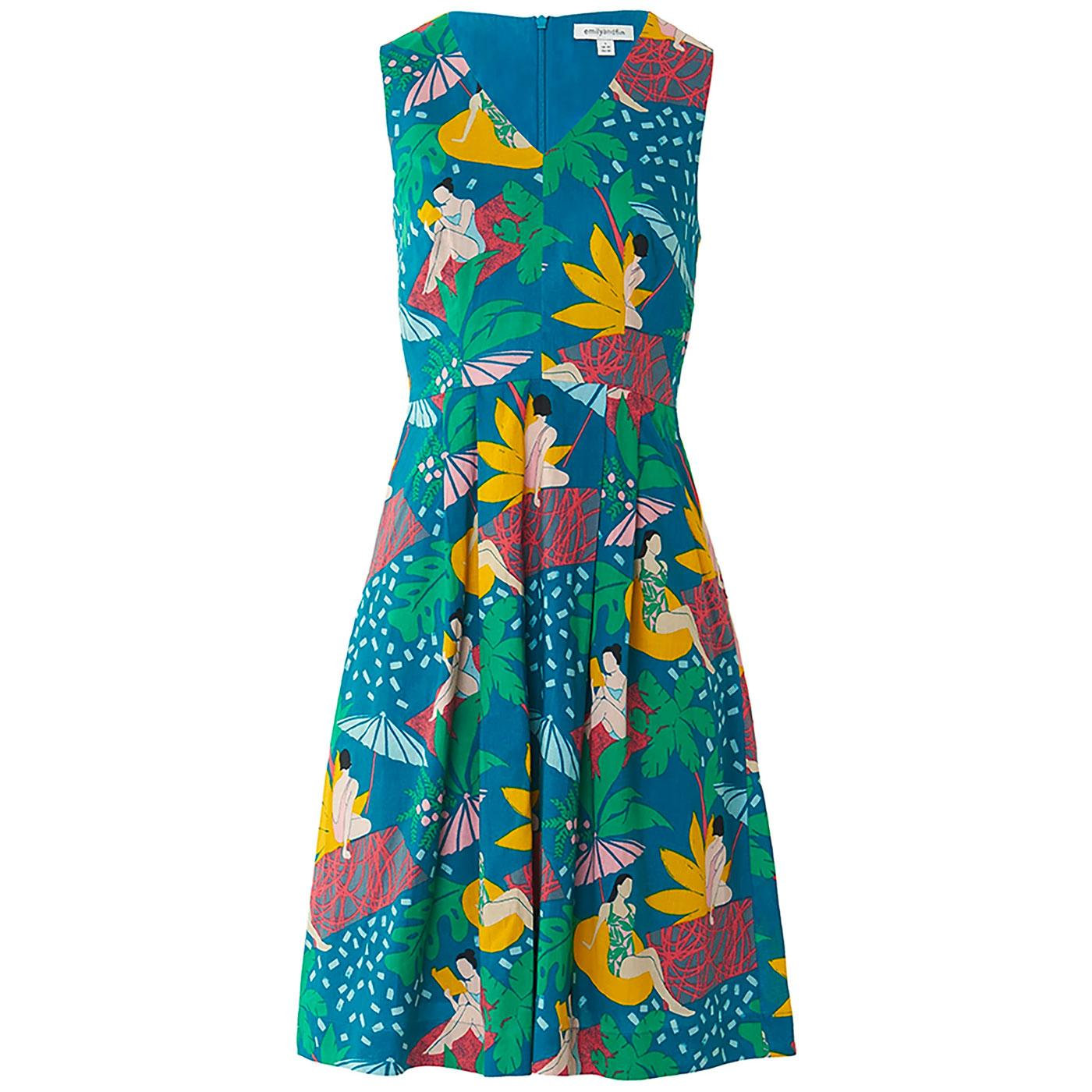 Amelie EMILY & FIN Retro Riviera Poolside Dress