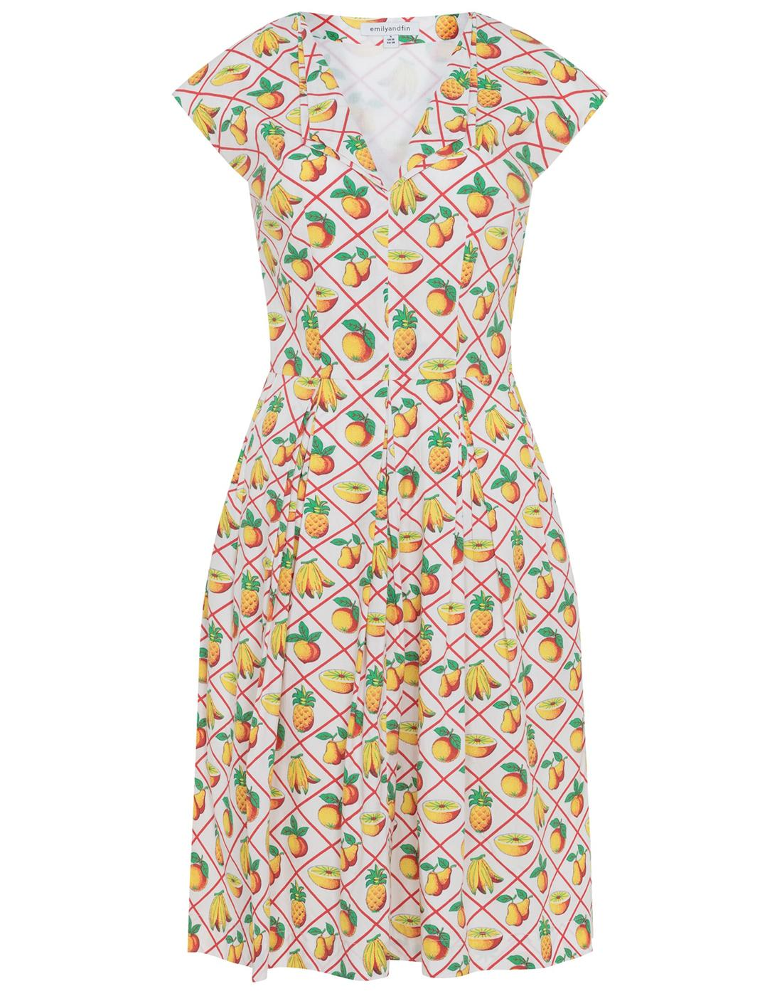 Annie EMILY AND FIN Retro 50s Pleated Shirt Dress