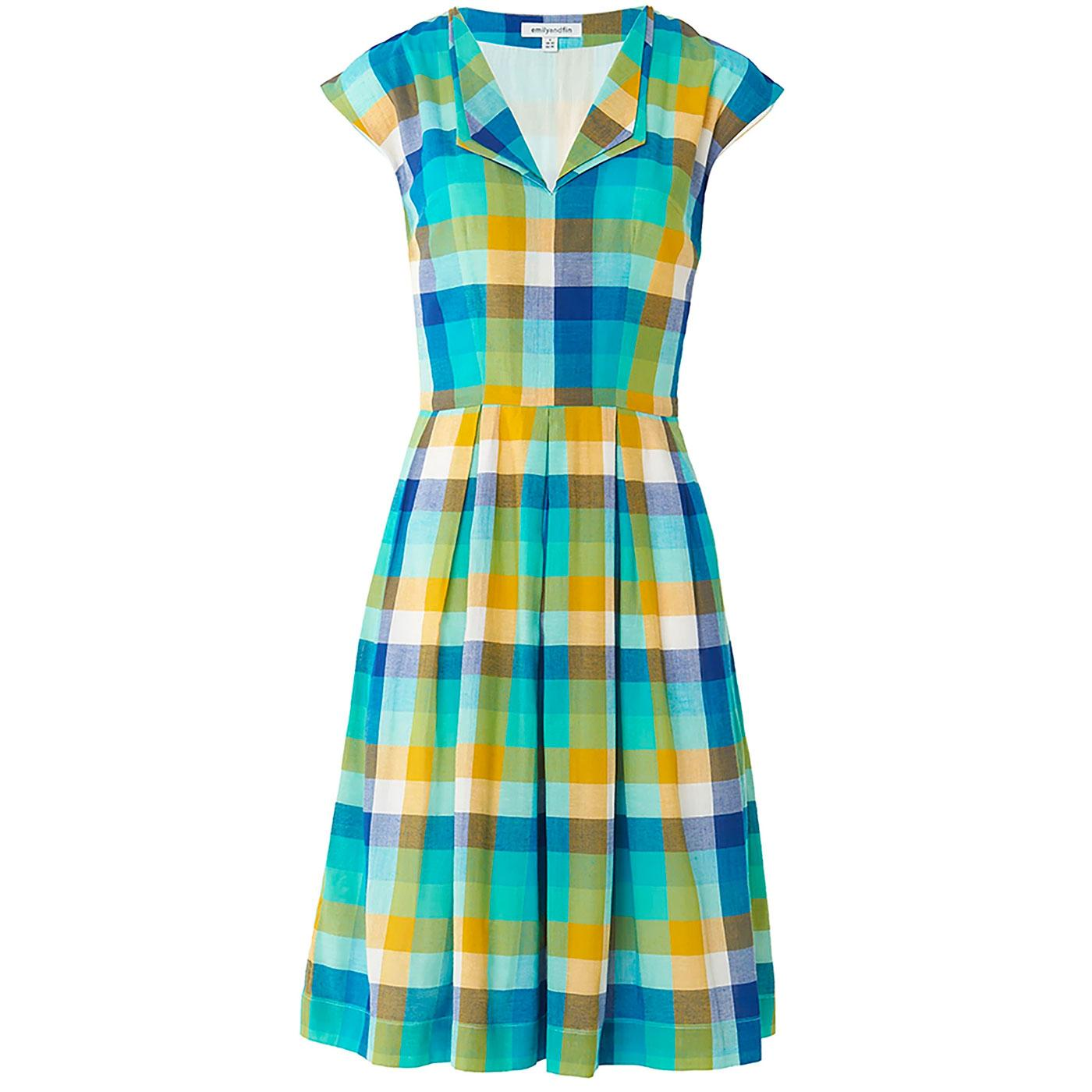 Annie EMILY AND FIN Retro 1950s Double Lapel Dress