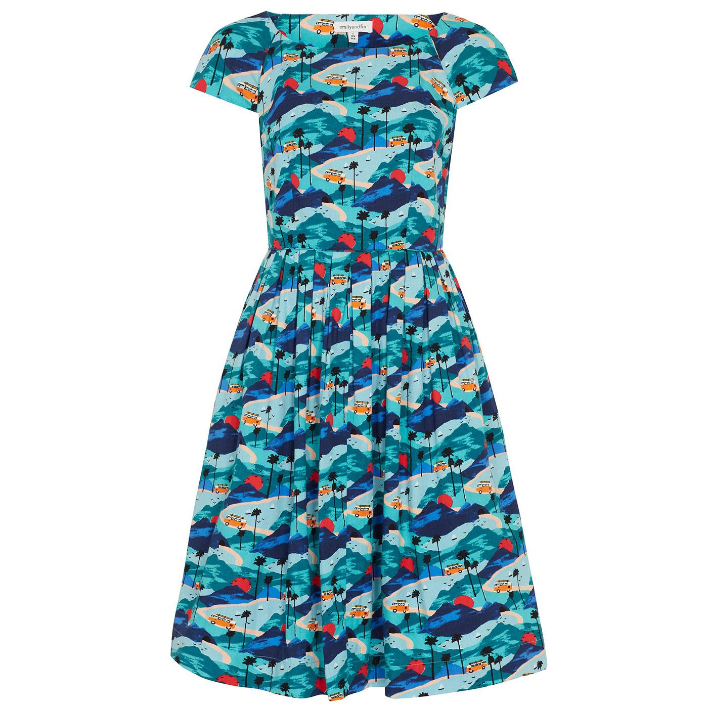 Claudia EMILY & FIN Retro Road Trippin' Dress