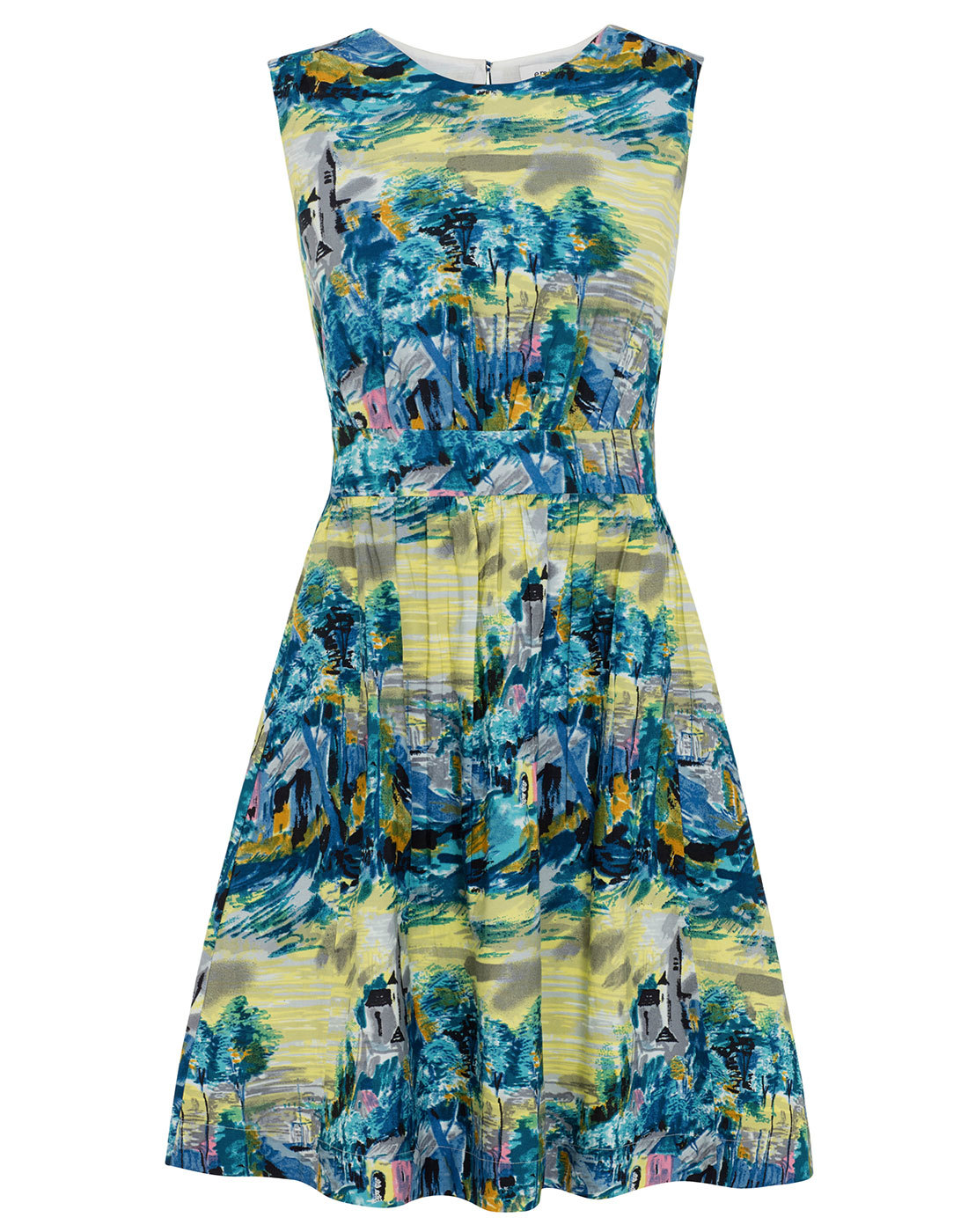Painted Tuscan Landscape EMILY AND FIN Lucy Dress