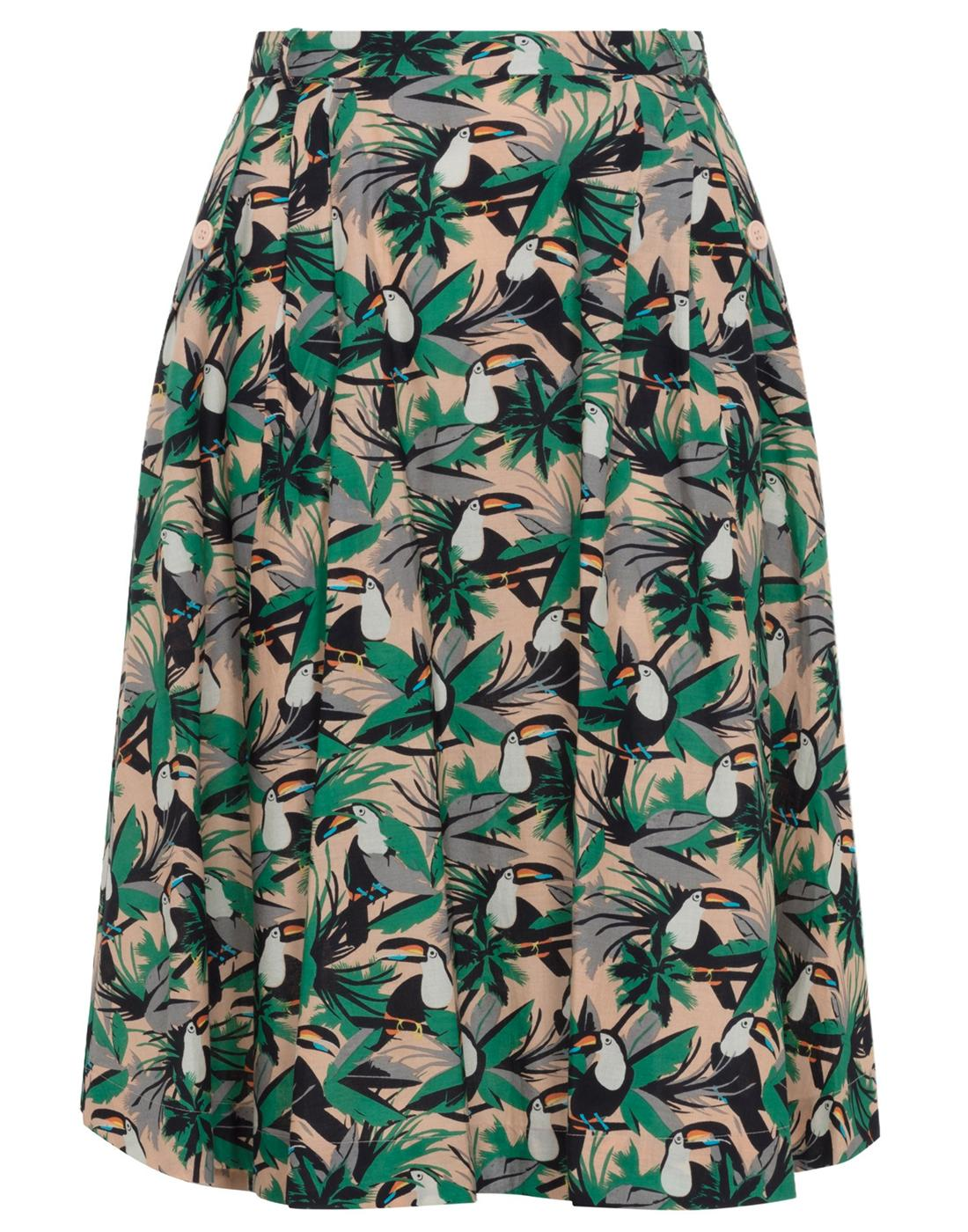 Pippa EMILY & FIN Tropical Toucans Summer Skirt
