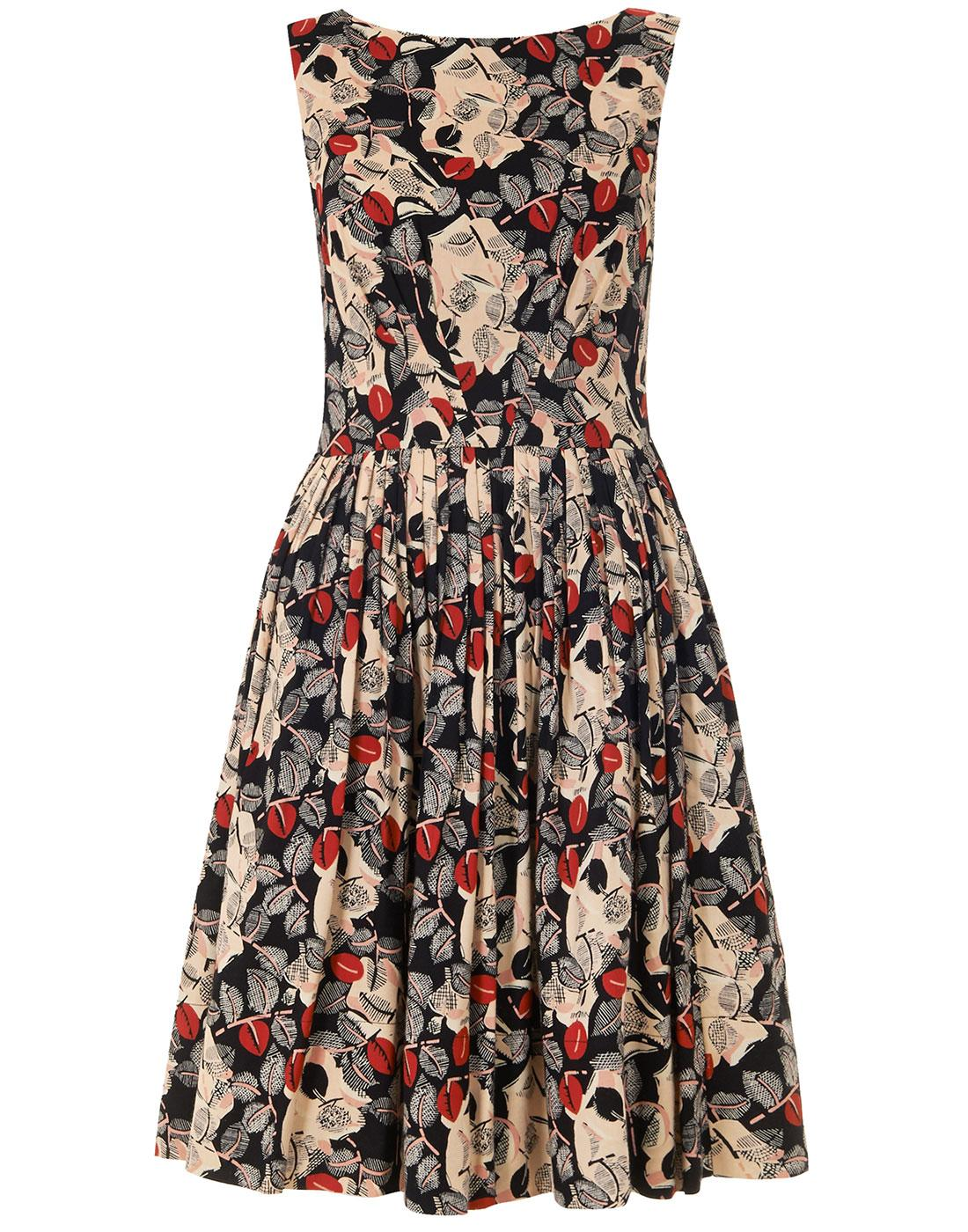 Abigail EMILY AND FIN Floral Retro Dress