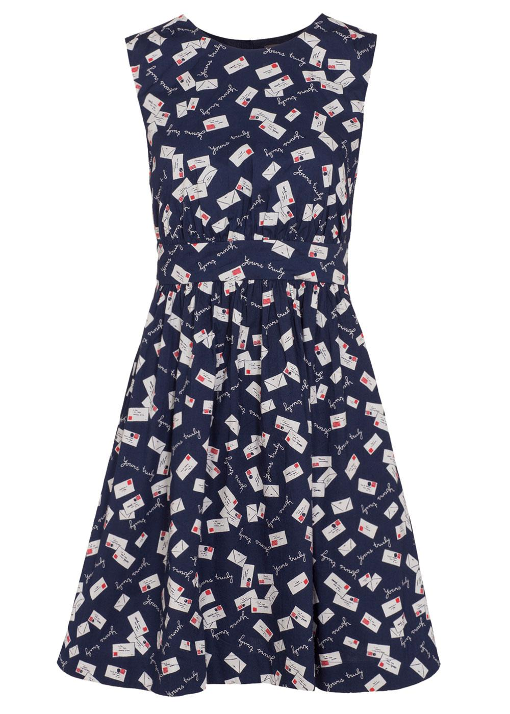 Lucy Yours Truly EMILY AND FIN Retro A-Line Dress