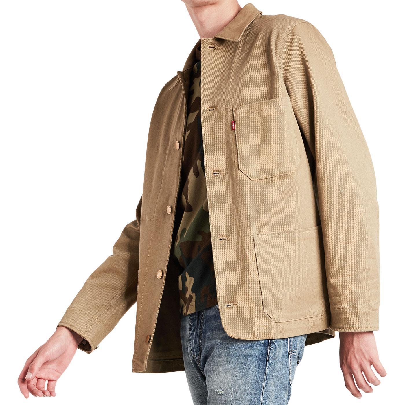 LEVI'S Men's Retro Archive Engineers Coat 2.0 (HG)