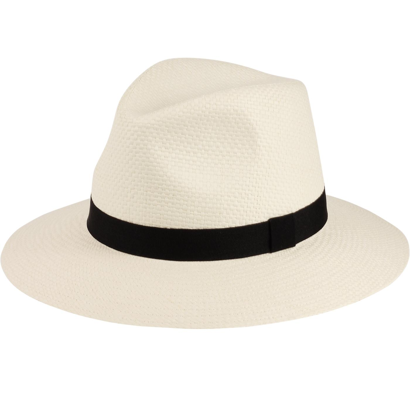 FAILSWORTH Straw Ambassador Fedora Hat (Bleach)