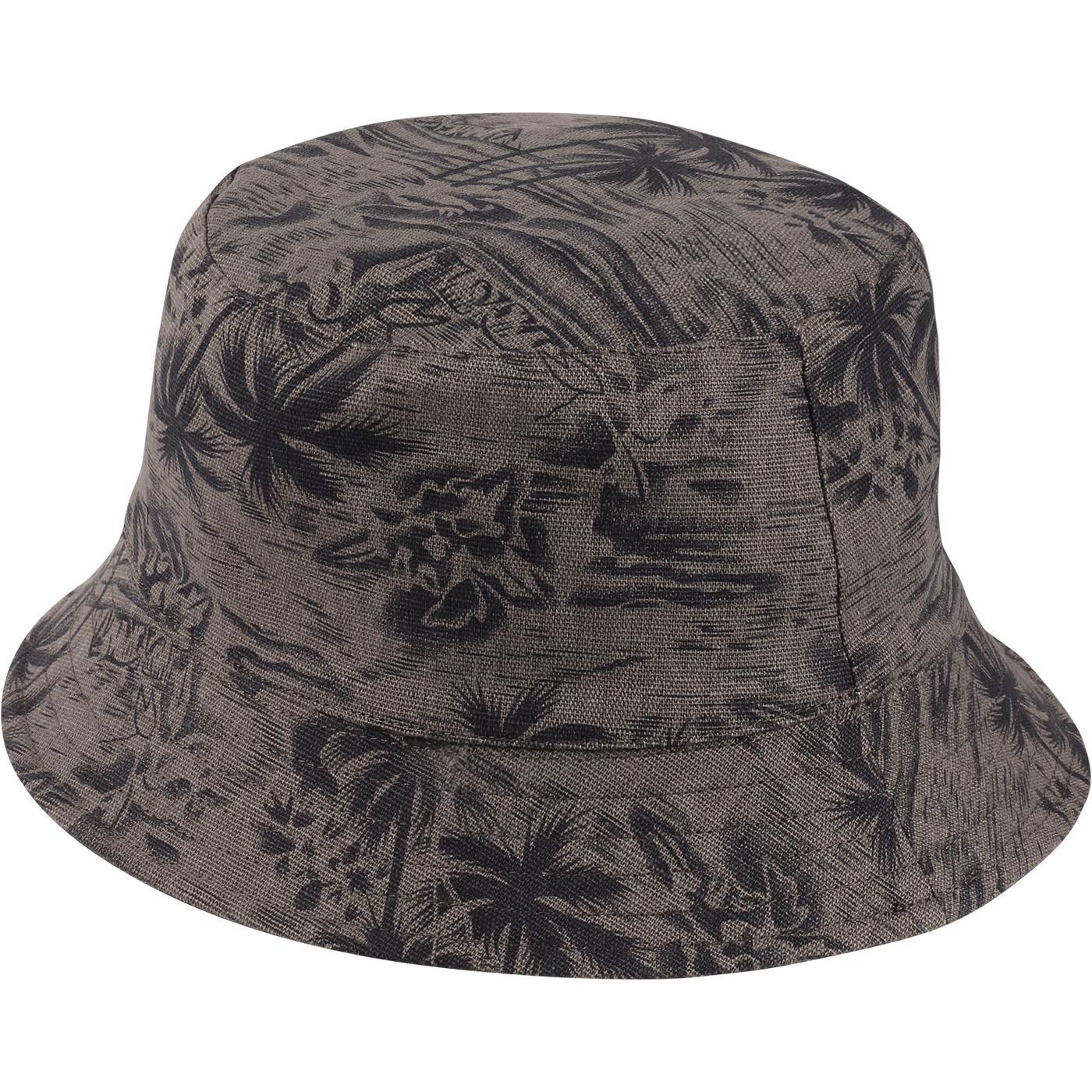 FAILSWORTH Cotton Reversible Floral Bucket Hat (N)