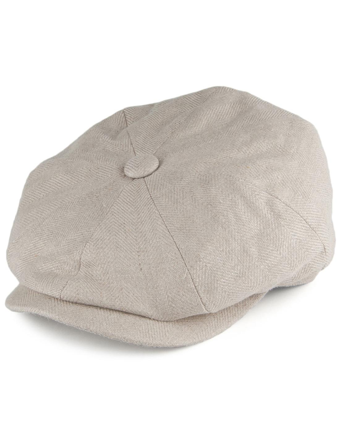 Mayo FAILSWORTH Men's Retro Irish Linen Gatsby Hat